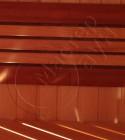 Спинка закругленный кедр + полуабаш