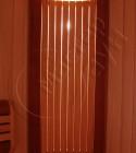 Спинка-светильник кедр + полуабаш